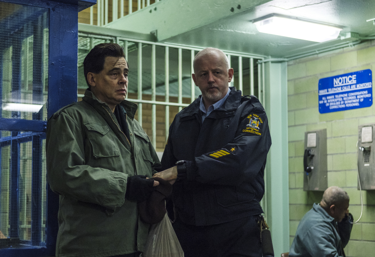 Escape at Dannemora Benicio del Toro David Morse