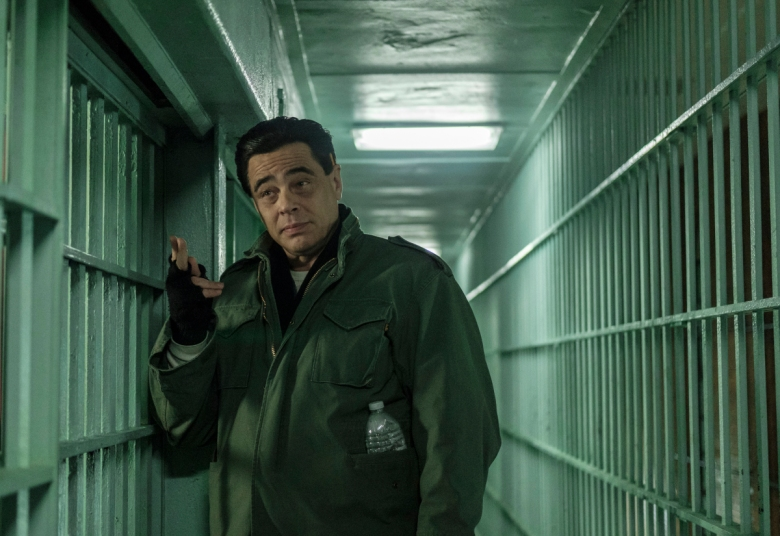 Escape at Dannemora Benicio del Toro