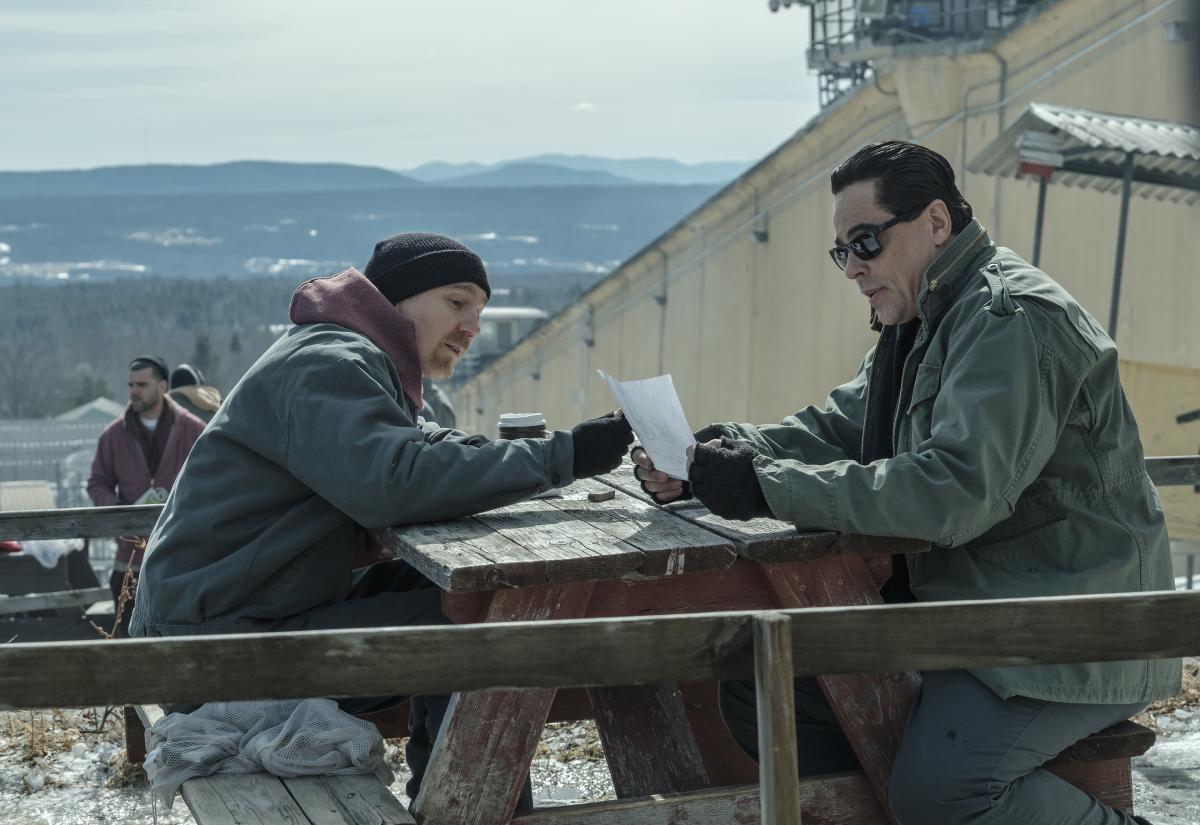 Escape at Dannemora Paul Dano Benicio del Toro