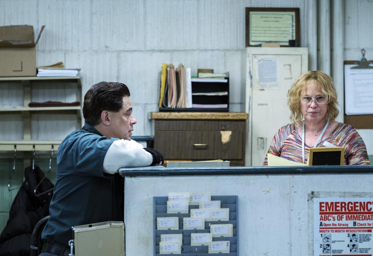 Escape at Dannemora Paul Dano Benicio del Toro Patricia Arquette