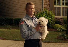 Game Night Jesse Plemons dog