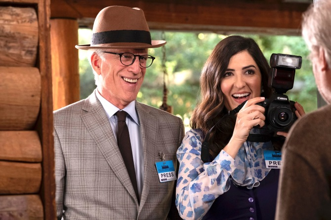 """Ted Danson and D'Arcy Carden, """"The"""
