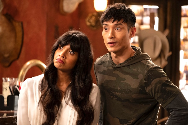 "Jameela Jamil and Manny Jacinto, ""The Good Place"""