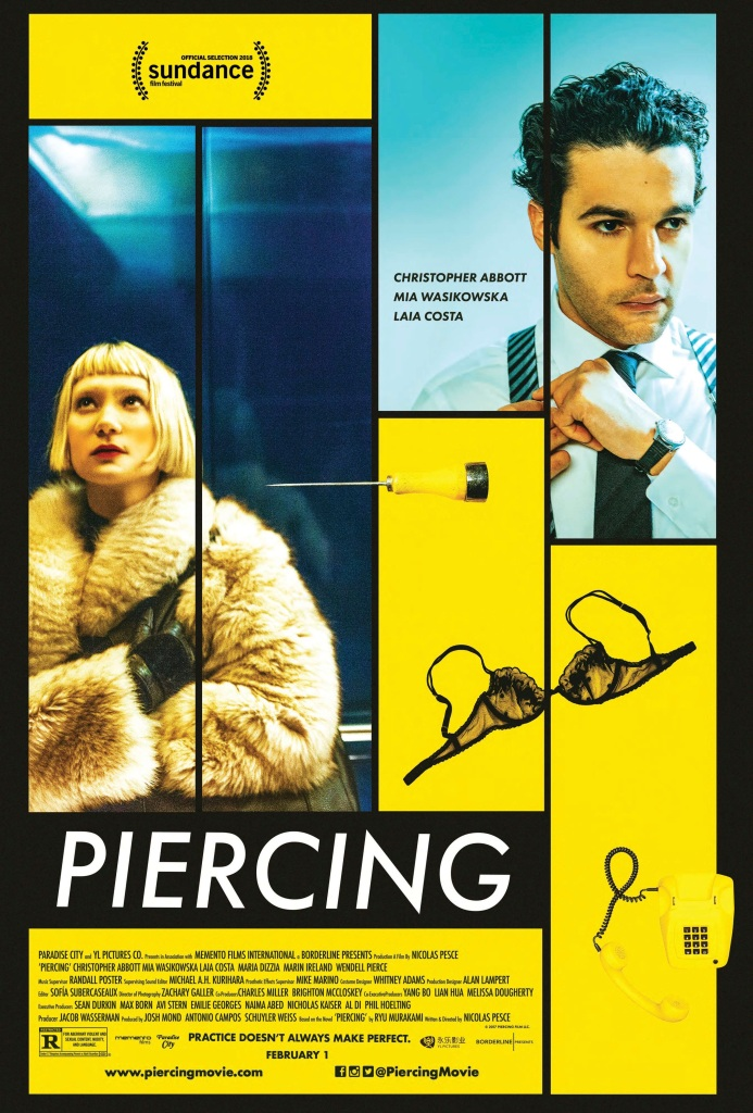 """Piercing"" Official Poster"