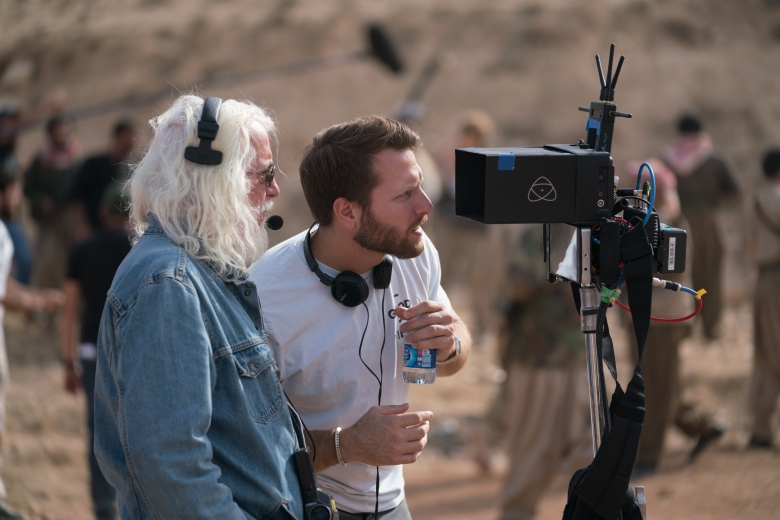"""A Private War"" cinematographer Robert Richardson and director Matthew Heineman"