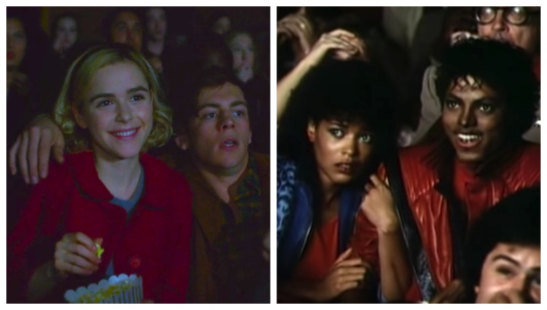 """Chilling Adventures of Sabrina"" and ""Thriller"""