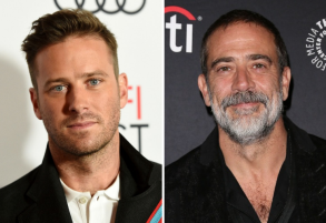 Armie Hammer and Jeffrey Dean Morgan