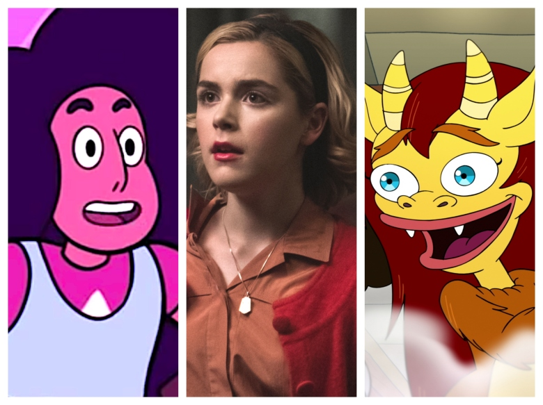 """Steven Universe,"" ""Chilling Adventures of Sabrina,"" ""Big Mouth"""