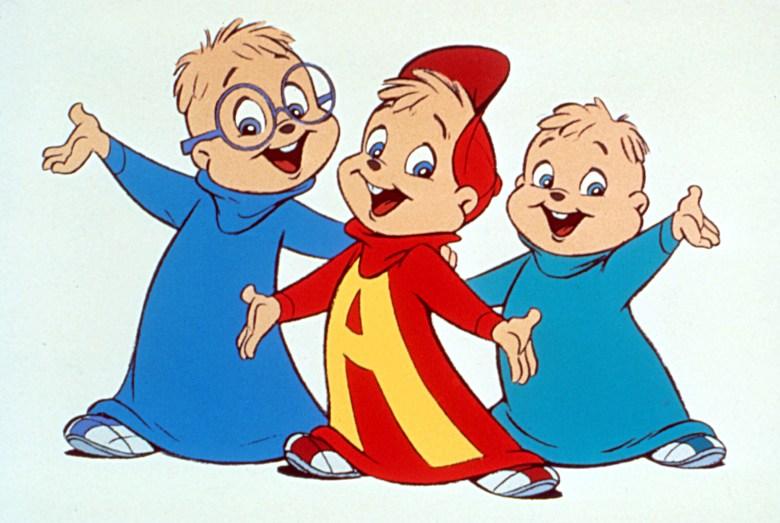 ALVIN AND THE CHIPMUNKS, Theodore, Alvin & Simon, 1987-1991