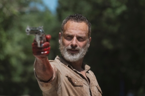 Andrew Lincoln as Rick Grimes- The Walking Dead _ Season 9, Episode 5 - Photo Credit: Gene Page/AMC