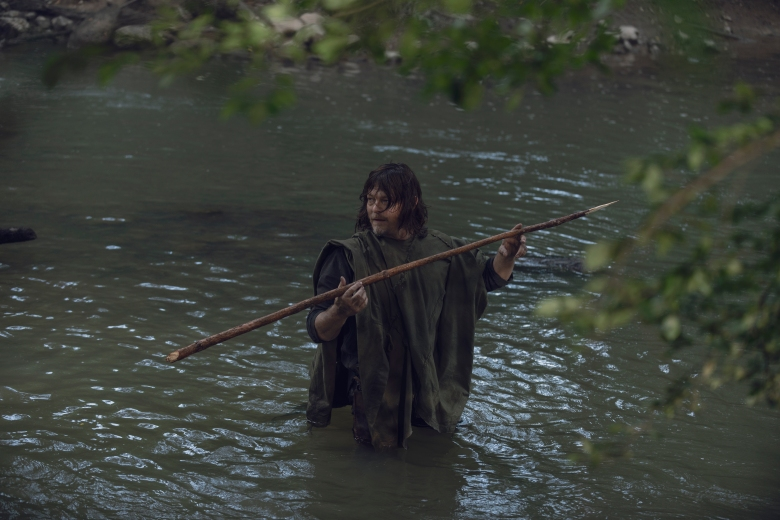 Norman Reedus as Daryl Dixon - The Walking Dead _ Season 9, Episode 6 - Photo Credit: Gene Page/AMC