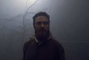 Ross Marquand as Aaron - The Walking Dead _ Season 9, Episode 8 - Photo Credit: Gene Page/AMC
