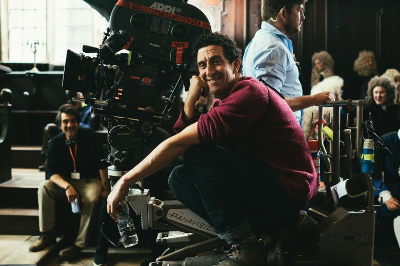 """The Favourite"" cinematographer Robbie Ryan"