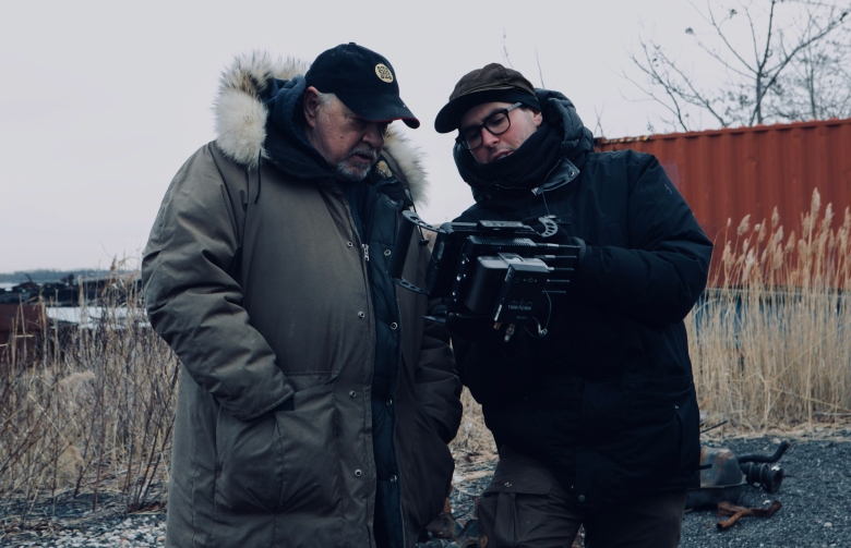 """First Reformed"" director Paul Schrader and cinematographer Alexander Dynan"