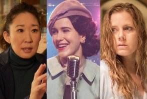 Golden Globes TV Predictions - Nominees Killing Eve, Marvelous Mrs. Maisel, Sharp Objects