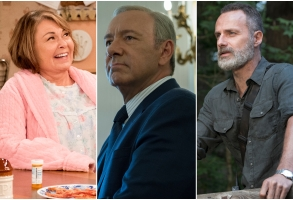 roseanne house of cards walking dead