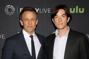 Seth Meyers, John Mulaney (Moderator)PaleyLive NY: An Evening with Seth Meyers, New York, USA - 13 Jun 2016