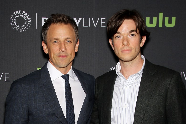 Seth Meyers, John Mulaney (Moderator)PaleyLive NY: An Evening with Seth Meyers, New York, USA - 13 Jun 2016