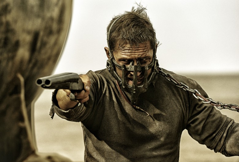 Editorial use only. No book cover usage.Mandatory Credit: Photo by Village Roadshow/Kobal/REX/Shutterstock (5886126v)Tom HardyMad Max - Fury Road - 2015Director: George MillerVillage RoadshowAUSTRALIAScene StillAction/Adventure