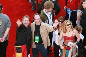 """Co-Writers Terry Rossio and Ted Elliott 'Pirates Of The Caribbean: At Worlds End' World film premiere, Anaheim, California, America - 19 May 2007May 19. 2007 Anaheim, CAWalt Disney Pictures and Jerry Bruckheimer Film's world premiere of """"Pirates of the Caribbean: At Worlds End""""Co-Writers Terry Rossio and Ted Elliott Photo: ®BEImages"""