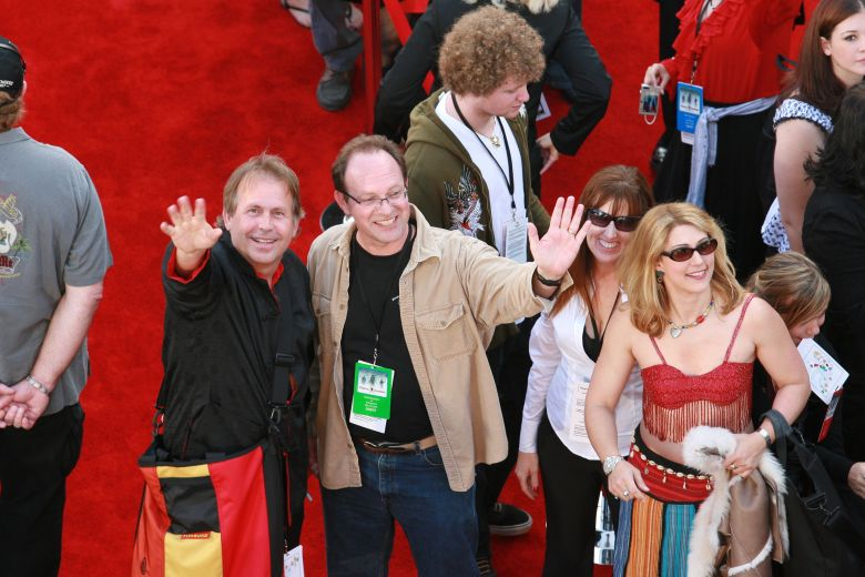 "Co-Writers Terry Rossio and Ted Elliott 'Pirates Of The Caribbean: At Worlds End' World film premiere, Anaheim, California, America - 19 May 2007May 19. 2007 Anaheim, CAWalt Disney Pictures and Jerry Bruckheimer Film's world premiere of ""Pirates of the Caribbean: At Worlds End""Co-Writers Terry Rossio and Ted Elliott Photo: ®BEImages"