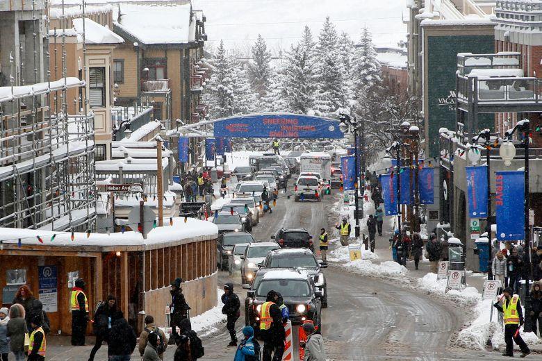 Main Street is seen during the 2018 Sundance Film Festival, in Park City, Utah2018 Sundance Film Festival - Day 3, Park City, USA - 20 Jan 2018