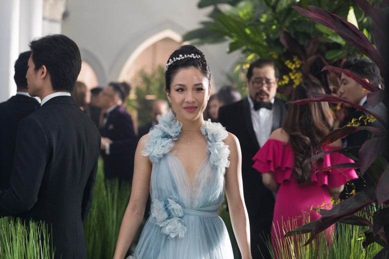 Editorial use only. No book cover usage.Mandatory Credit: Photo by Sanja Bucko/Warner Bros/Kobal/REX/Shutterstock (9641065a)Constance Wu'Crazy Rich Asians' Film - 2018