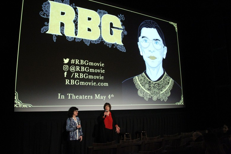 Julie Cohen (Director), Betsy West (Director)New York Special Screening of 'RBG', USA - 30 Apr 2018
