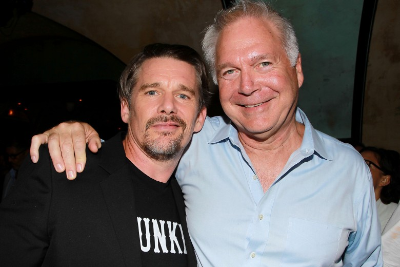 Ethan Hawke and Jonathan SehringThe New York Special Screening of Ethan Hawke's Film 'Blaze' After Party, USA - 06 Sep 2018