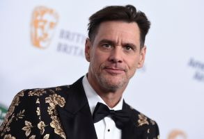 Jim Carrey arrives at the 2018 BAFTA Los Angeles Britannia Awards at the Beverly Hilton on in Beverly Hills, Calif2018 BAFTA Los Angeles Britannia Awards, Beverly Hills, USA - 26 Oct 2018