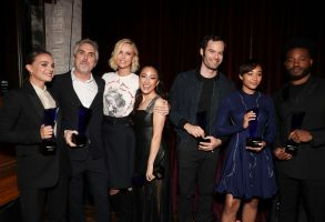 Natalie Portman, Alfonso Cuaron, Charlize Theron, Constance Wu, Bill Hader, Amandla Stenberg and Ryan CooglerIndieWire Honors, Inside, Los Angeles, USA - 01 Nov 2018