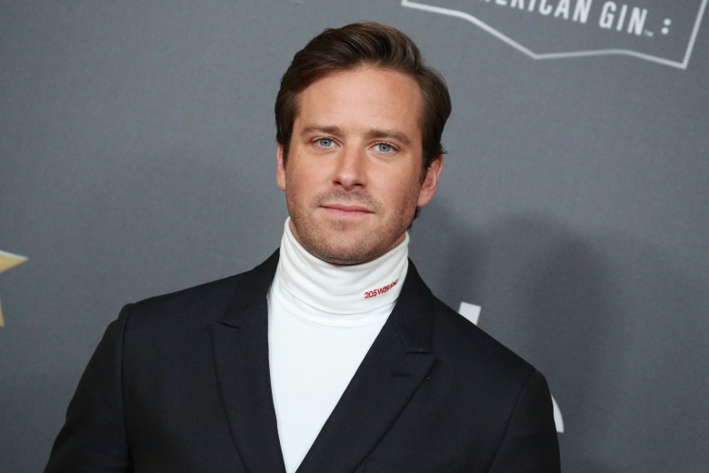 Armie HammerHollywood Film Awards, Arrivals, Los Angeles, USA - 04 Nov 2018