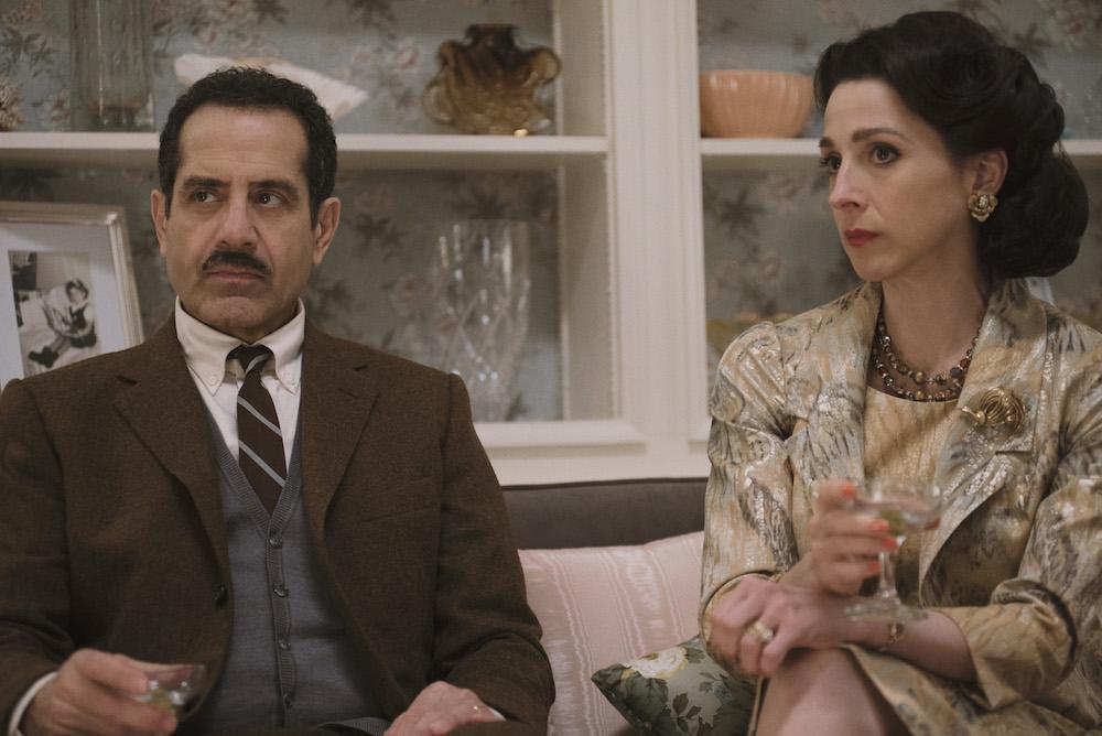 "Tony Shaloub and Marin Hinkle in ""The Marvelous Mrs. Maisel"" Amazon"