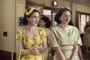 The Marvelous Mrs. Maisel Season 2 Rachel Brosnahan Marin Hinkle