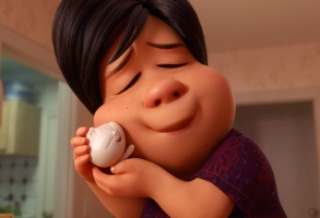 "MY LI'L DUMPLING – In Disney•Pixar's all-new short ""Bao,"" an aging Chinese mom suffering from empty-nest syndrome welcomes another chance at motherhood when one of her dumplings springs to life as a lively, giggly dumpling boy. Her newfound happiness is short-lived however, as she soon realizes that nothing stays cute and small forever, and even dumplings grow up. Directed by Domee Shi, ""Bao"" opens in theaters on June 15, 2018, in front of ""Incredibles 2."" ©2018 Disney•Pixar. All Rights Reserved."