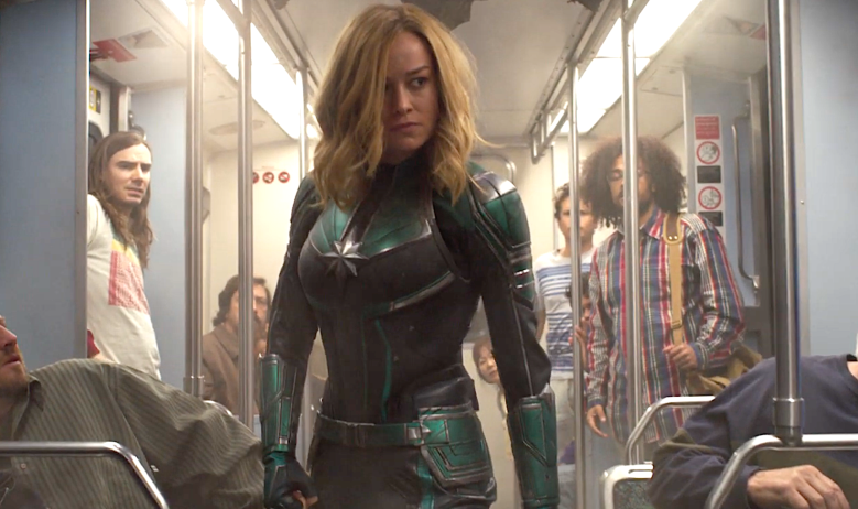 "Brie Larson, ""Captain Marvel"""