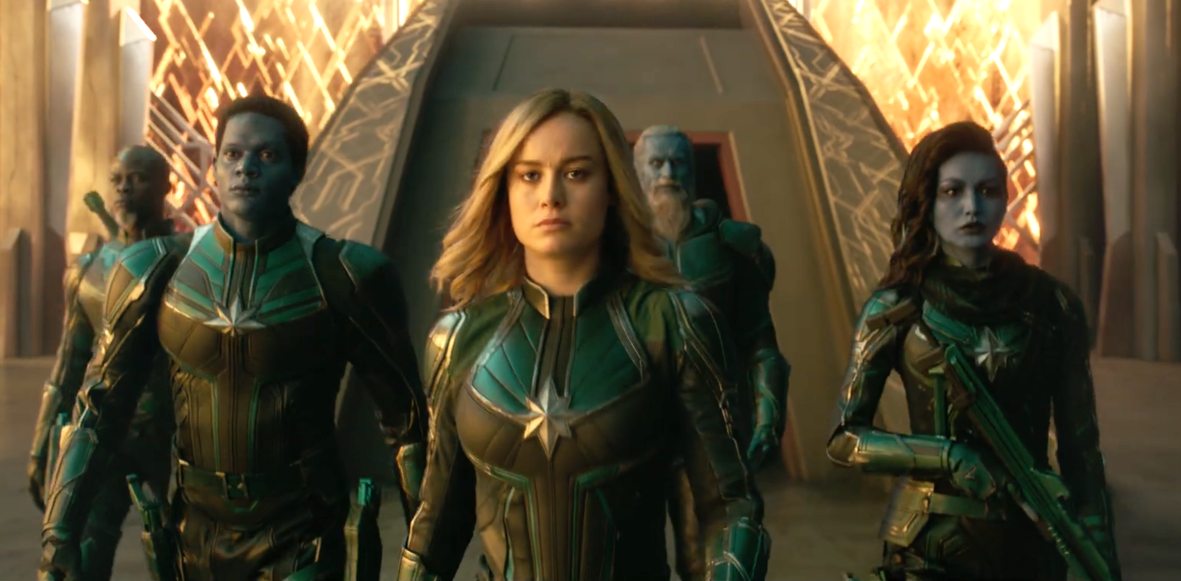 Captain Marvel Official Trailer Brie Larson Joins The Mcu