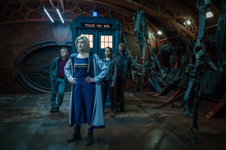 Picture shows: Graham (BRADLEY WALSH), The Doctor (JODIE WHITTAKER), Yaz (MANDIP GILL), Ryan (TOSIN COLE)