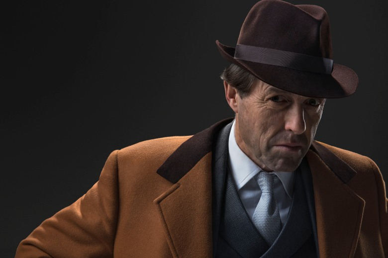 WARNING: Embargoed for publication until 16:00:01 on 27/04/2018 - Programme Name: A Very English Scandal - TX: n/a - Episode: n/a (No. n/a) - Picture Shows: ***EMBARGOED UNTIL 16:00hrs BST 27th APRIL 2018*** Jeremy Thorpe (HUGH GRANT) - (C) BBC/Blueprint/Amazon/Sony - Photographer: Ray Burmiston