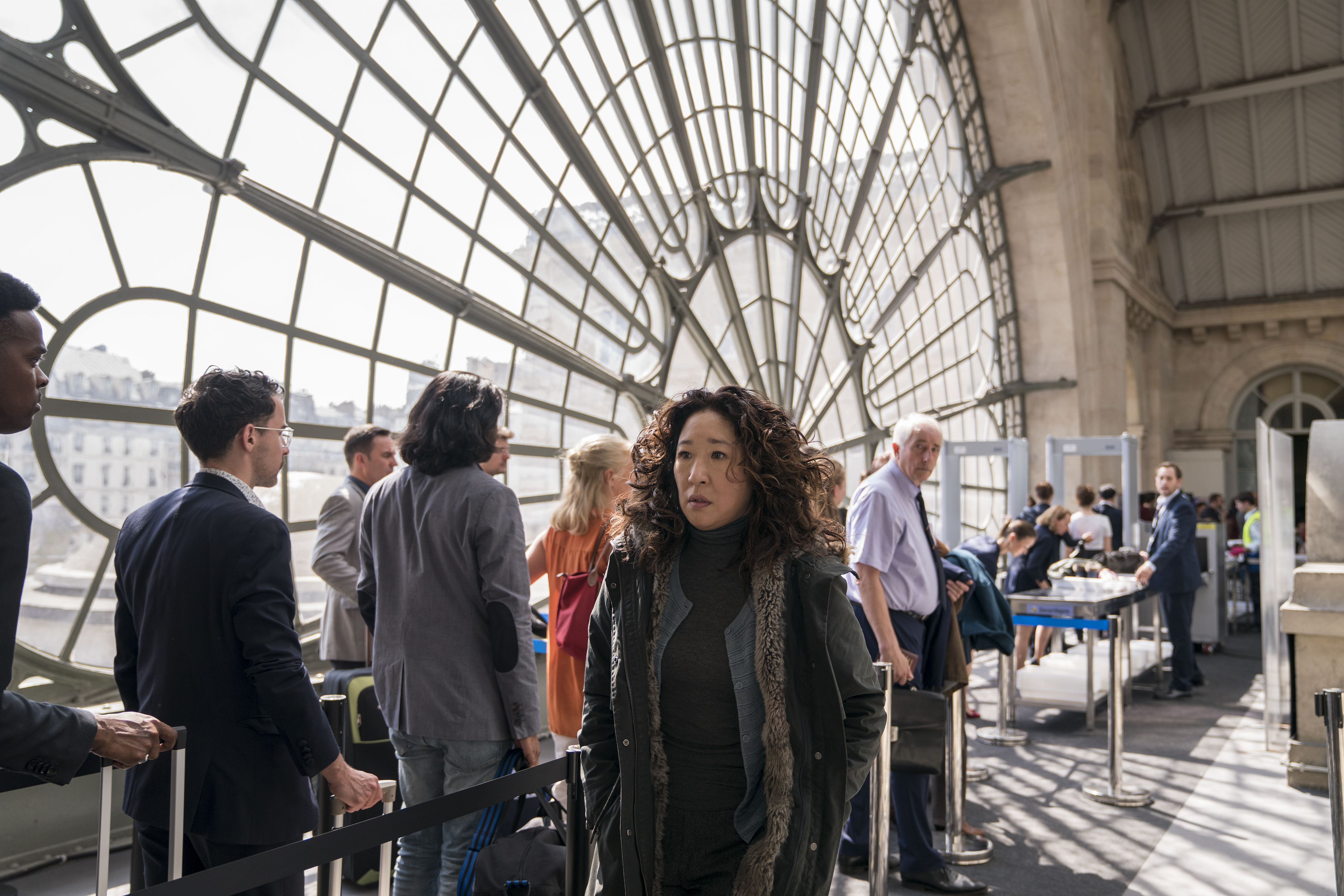 Sandra Oh as Eve Polastri - Killing Eve _ Season 2, Episode 1 - Photo Credit: Aimee Spinks/BBCAmerica