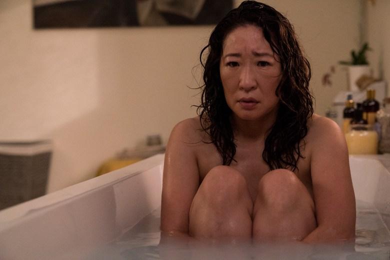 Sandra Oh as Eve Polastri- Killing Eve _ Season 2, Episode 1 - Photo Credit: Aimee Spinks/BBCAmerica