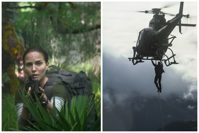 """Annihilation"" and ""Mission Impossible: Fallout"""