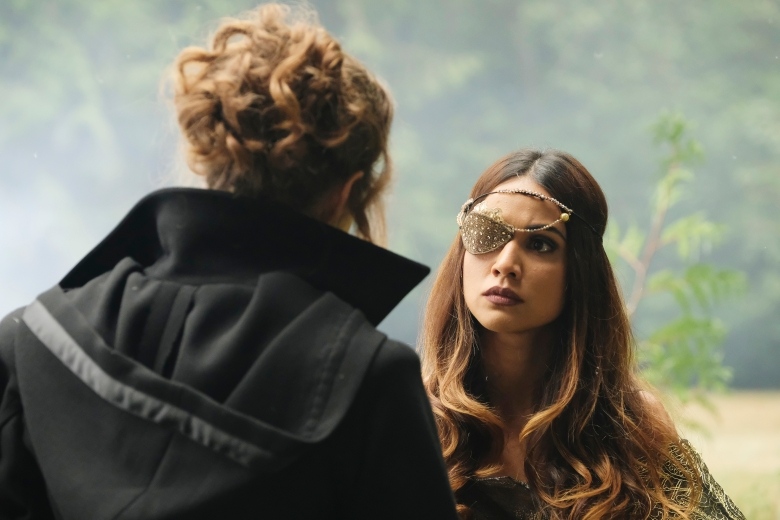 "THE MAGICIANS -- ""A Life in the Day"" Episode 305 -- Pictured: Summer Bishil as Margo Hanson -- (Photo by: Eric Milner/Syfy)"