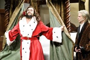 'Saturday Night Live' Review: Jason Momoa Makes His Enthusiastic Debut