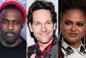 Idris Elba, Paul Rudd, and Ava Duvernay Netflix 2019 Preview