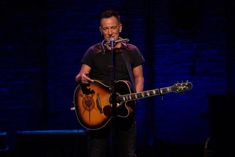 Springsteen on Broadway Bruce Springsteen Netflix