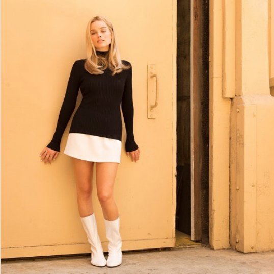 "Margot Robbie as Sharon Tate, ""Once Upon a Time in Hollywood"""