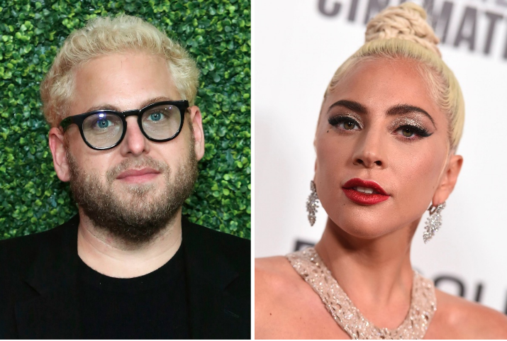 Jonah Hill and Lady Gaga