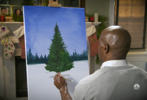Terry Crews painting