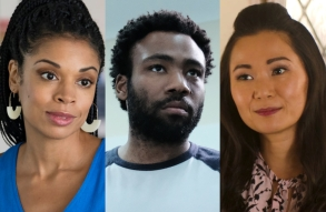 Susan Kelechi Watson, Donald Glover, and Hong Chau best actors 2018